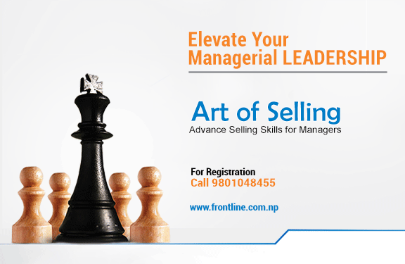 The Art of Selling- Advance Selling Skills for Managers