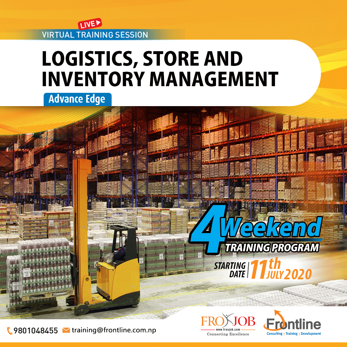 Logistics, Store and Inventory Management: Advance Edge