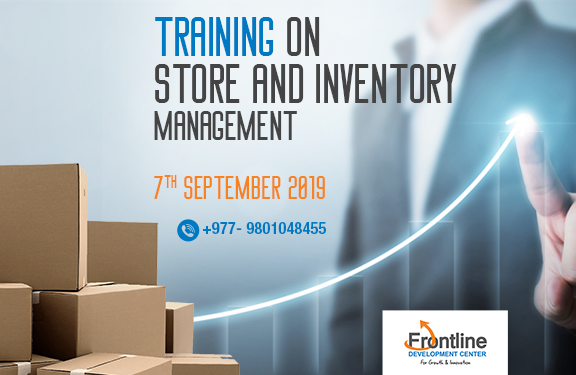 INVENTORY AND STORE MANAGEMENT TRAINING